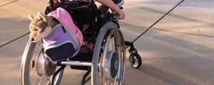 bambina disabile per errore durante il parto